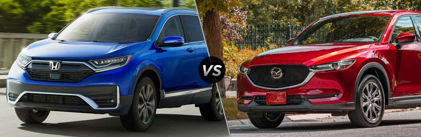 2020 CR-V vs 2020 CX-5