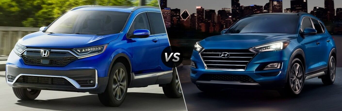 2020 CR-V vs 2020 Tucson