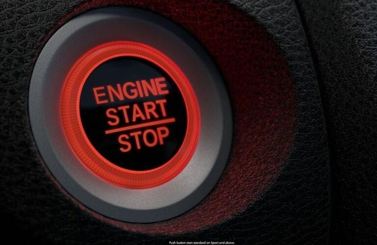 2020 Honda Civic Start Stop Engine Button