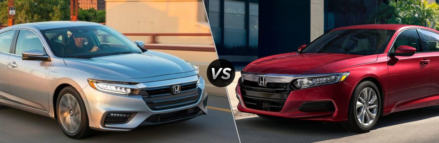 2020 Honda Insight vs 2020 Honda Accord