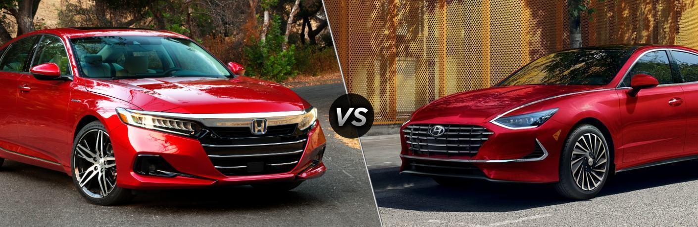 2021 Accord Hybrid vs 2021 Sonata Hybrid