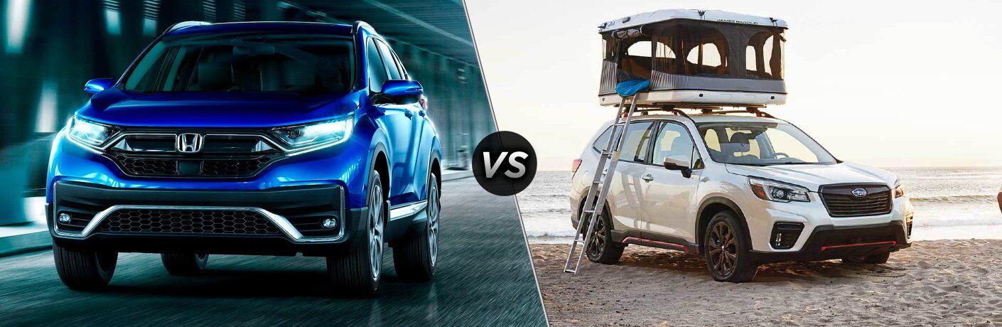 2021 CR-V vs 2021 Forester