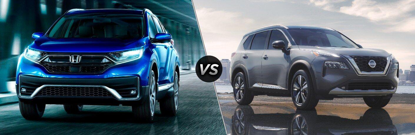 2021 CR-V vs 2021 Rogue