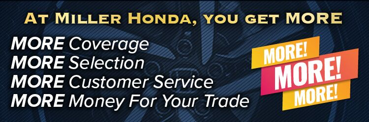 Why Buy From Miller Honda
