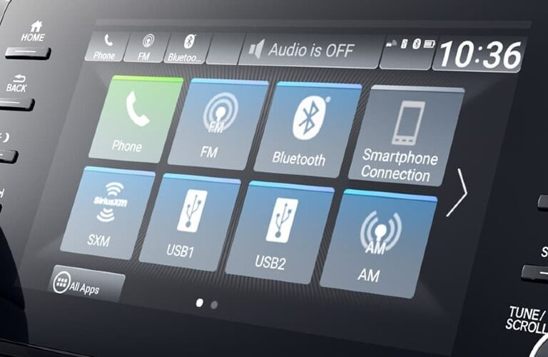 2020 Honda Accord Hybrid multimedia screen