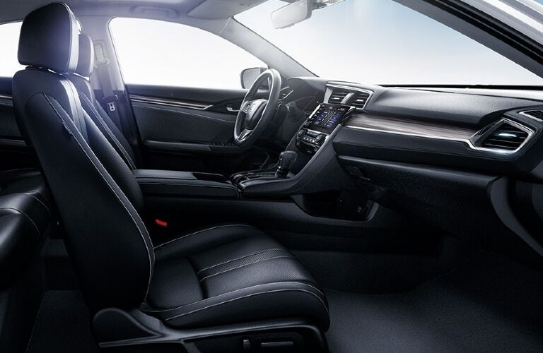 2020 Honda Civic cockpit showcase