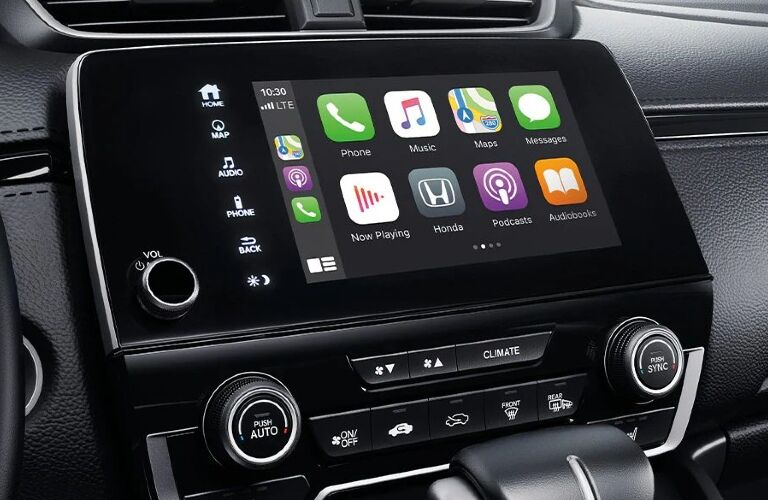 2020 CR-V infotainment touchscreen