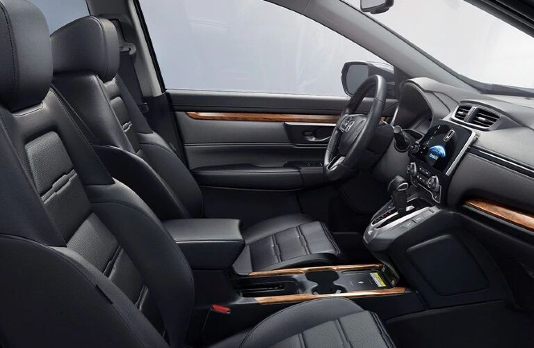 2020 CR-V cockpit showcase