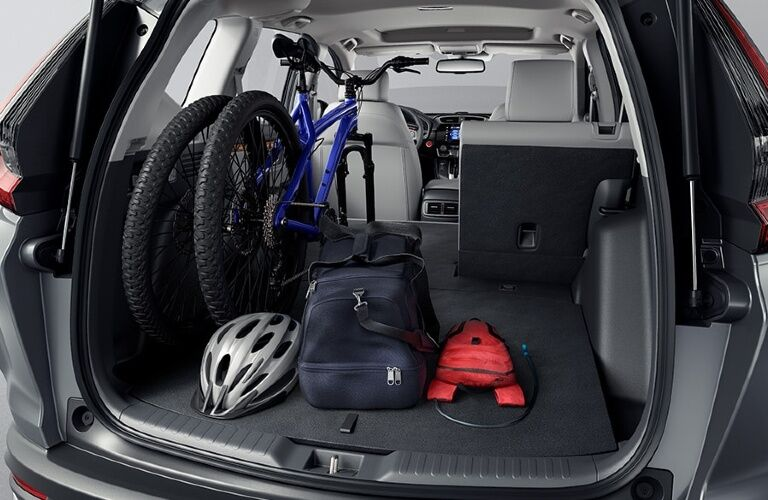 2020 CR-V Hybrid cargo bay showcase
