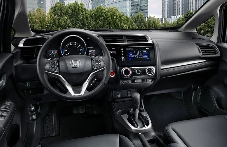 2020 Honda Fit cockpit showcase