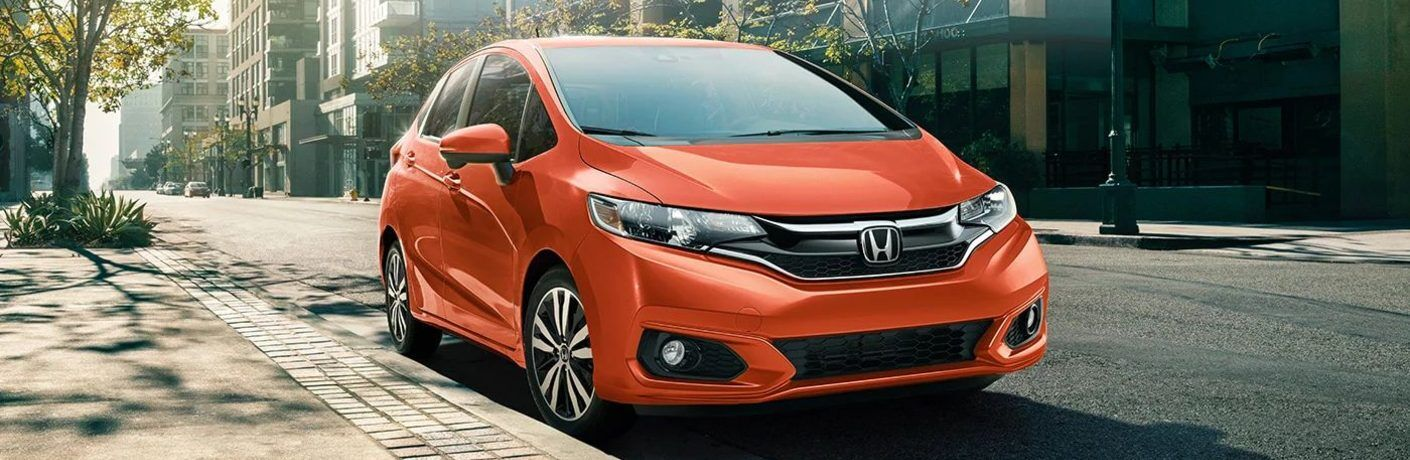 2020 Honda Fit parked on street