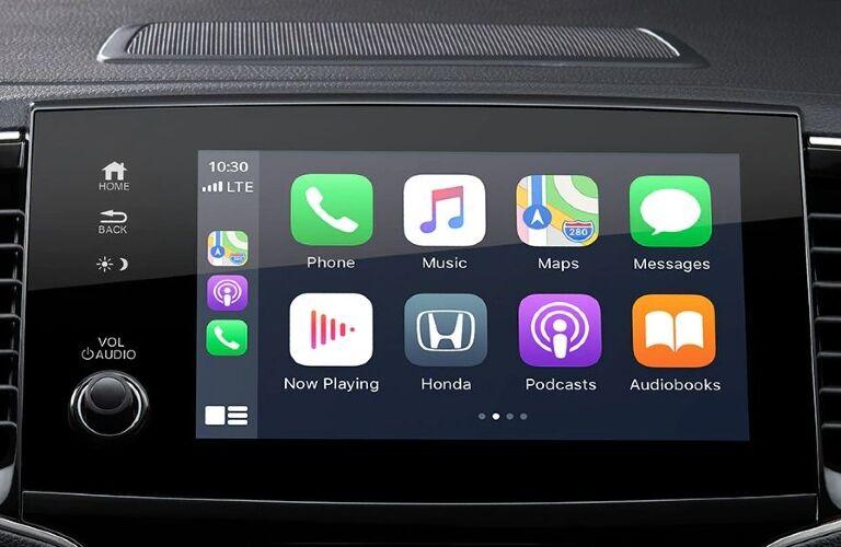 2020 Pilot touchscreen