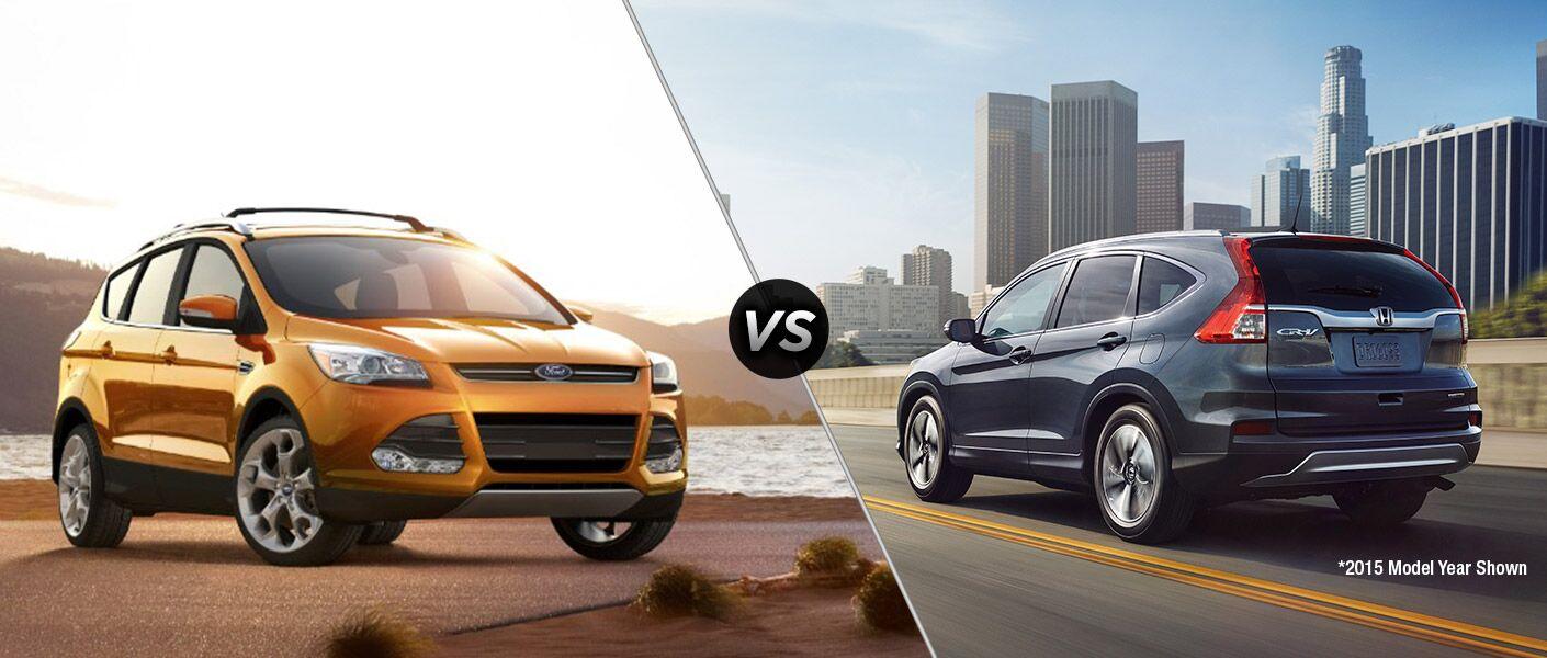 2016 Ford Escape vs 2016 Honda CRV