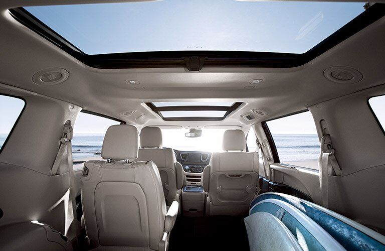 2017 Chrysler Pacifica interior cargo space