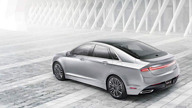 2016 lincoln mkz sedan hybrid luxury led lighting taillights fuel economy