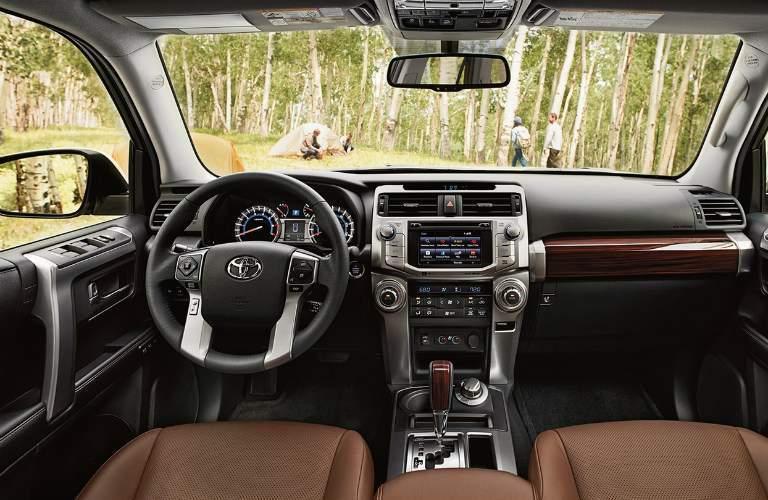interior of the 2017 Toyota 4Runner