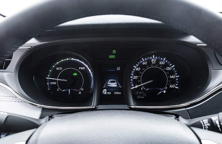 Multi-Information Display in 2017 Toyota Avalon Hybrid