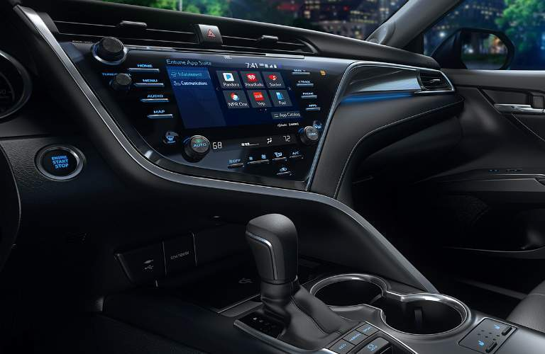 Infotainment system in the 2018 Toyota Camry