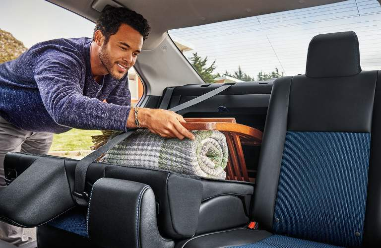 Cargo space of the 2018 Toyota Corolla