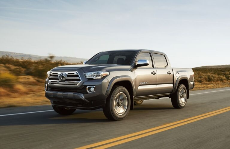 2018 Toyota Tacoma Driving On Open Road