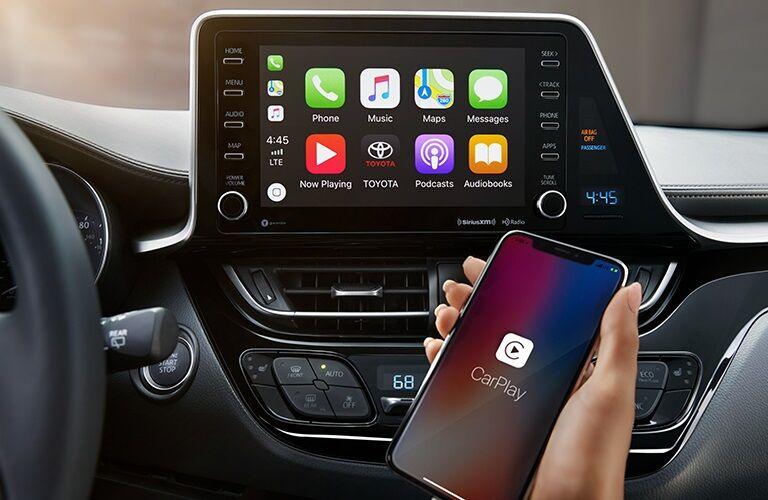 Apple CarPlay in the 2019 Toyota C-HR