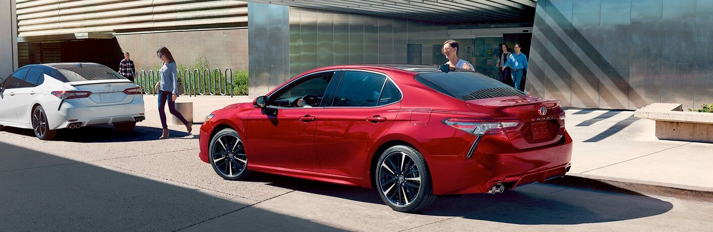 2019 Toyota Camry parked on street