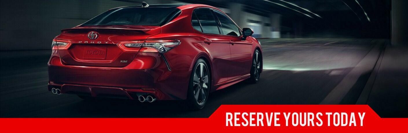 Reserve a 2018 Toyota Camry Martinsburg WV