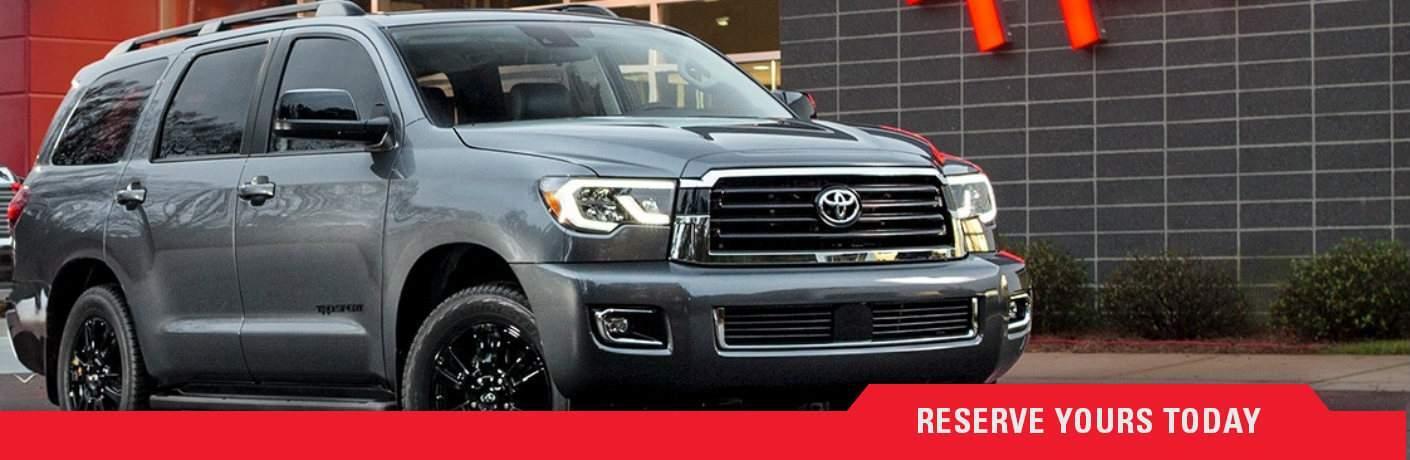 Reserve a 2018 Toyota Sequoia TRD Sport Martinsburg WV