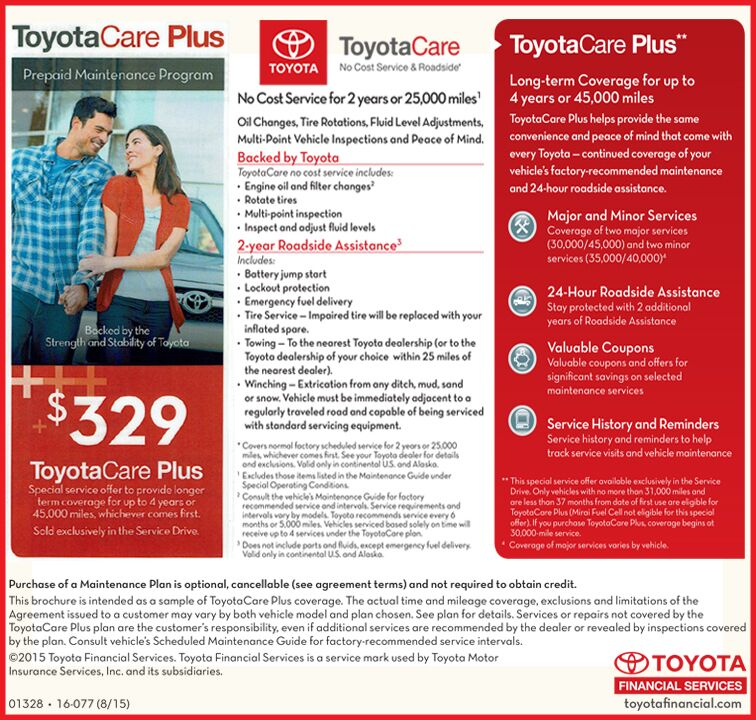 Contact Apple Valley Toyota In Martinsburg, WV For More Information Or To  Sign Up For The Toyota Care Plus Plan!