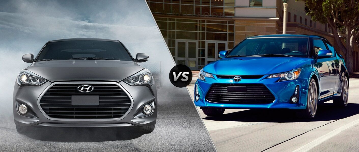 2016 Hyundai Veloster vs 2016 Scion tC
