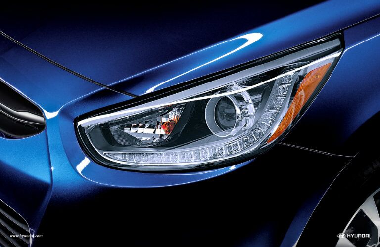 2017 Hyundai Accent LED lighting