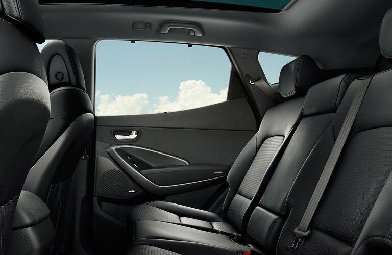 2017 Santa Fe Sport Backseat
