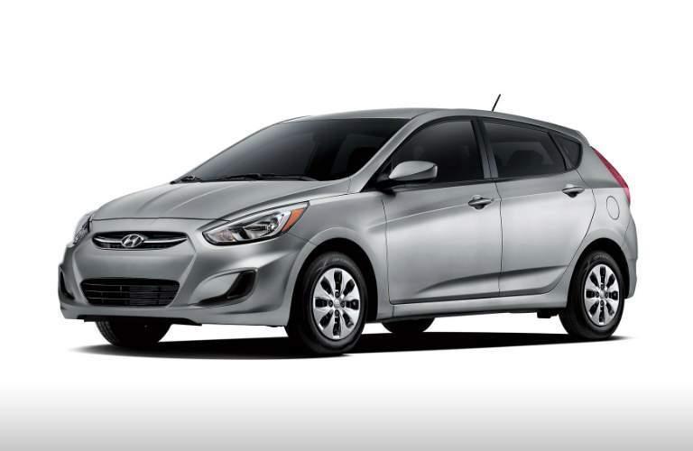 silver 2017 Hyundai Accent Hatchback