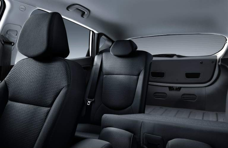 Interior seating in the 2017 Hyundai Accent