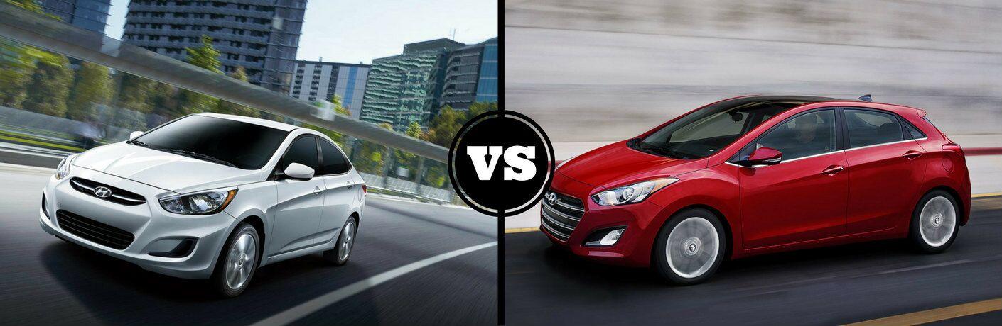 2017 Hyundai Accent Hatchback vs 2017 Hyundai Elantra GT