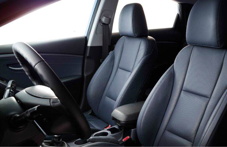 Front seats in the 2017 Hyundai Elantra GT