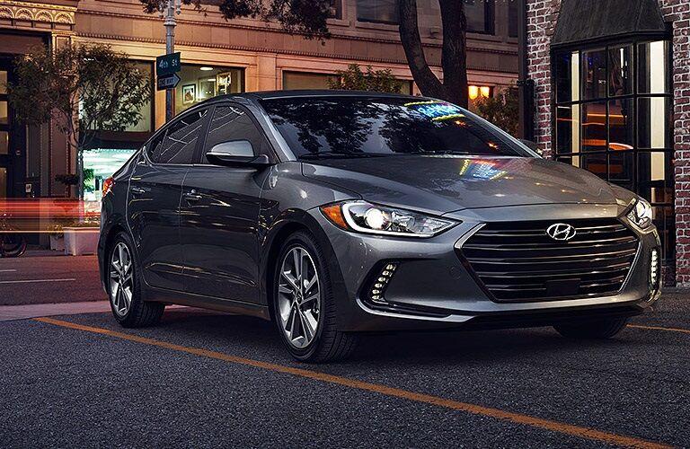 Dark Gray 2017 Hyundai Elantra