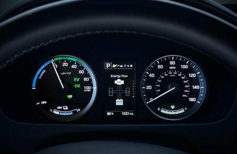 Instrument Cer Of 2017 Hyundai Sonata Hybrid