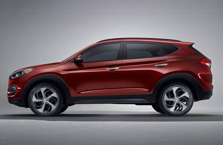 Red 2017 Hyundai Tucson