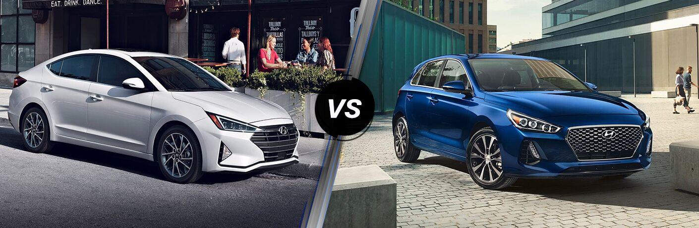 2019 Hyundai Elantra vs 2019 Hyundai Elantra GT