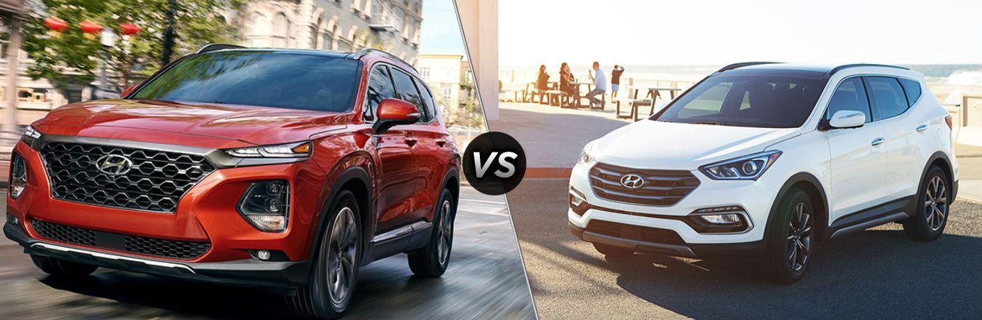 2019 Hyundai Santa Fe vs 2018 Hyundai Santa Fe Sport
