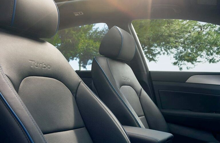 Turbo front seats in the 2019 Hyundai Sonata