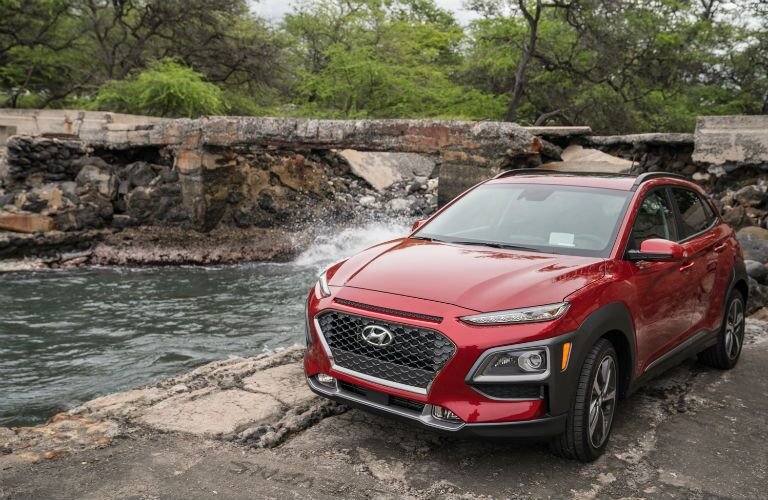 Red 2020 Hyundai Kona