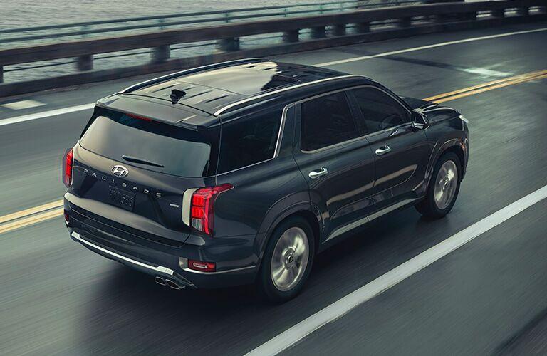 2020 Hyundai Palisade driving down highway