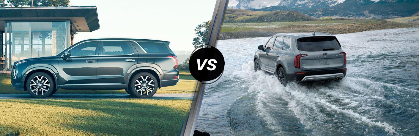 2020 Hyundai Palisade vs 2020 Kia Telluride