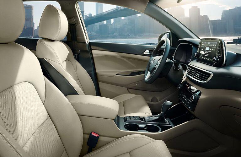 2020 Hyundai Tucson Front Seats