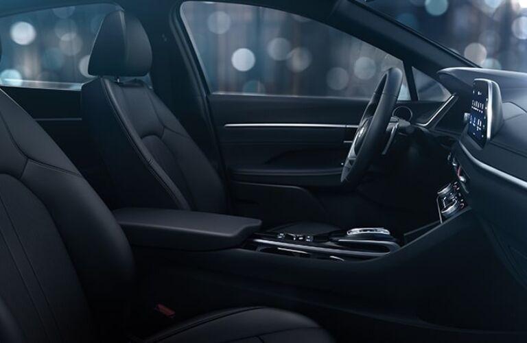 2020 Hyundai Sonata Front Seats