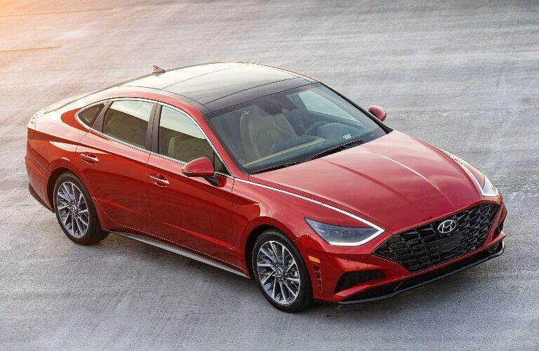 2020 Hyundai Sonata Parked