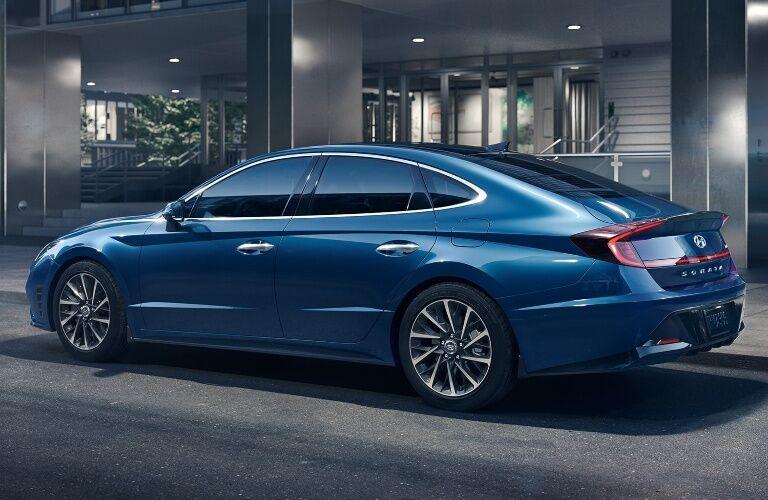 2020 Hyundai Sonata form back driver's side