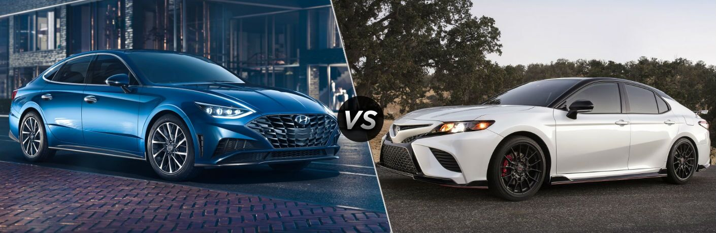 2020 Hyundai Sonata vs 2020 Toyota Camry